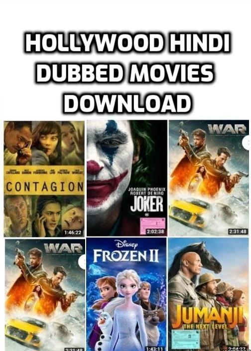 hollywood hindi dubbed movies download