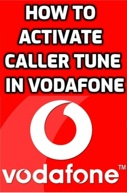 how to activate caller tune in vodafone