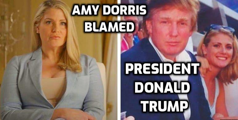 ami dorris blamed Donald trump