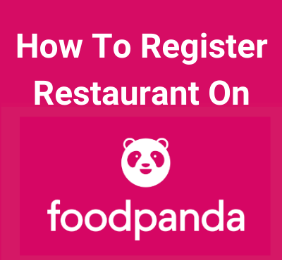 how to register with foodpanda