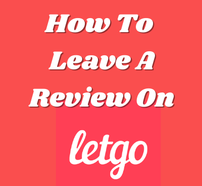 how to leave a review on letgo