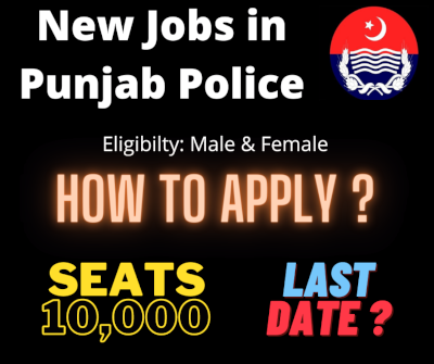 new latest jobs in Punjab police