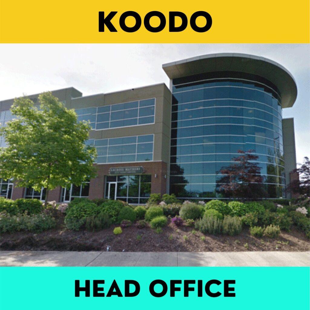 Koodo_Head_Office_Phone_Number_Address
