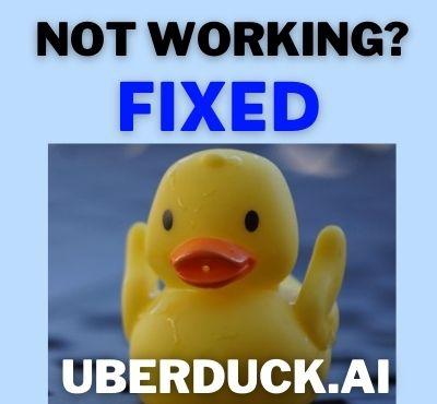 uberduck.ai_not_working